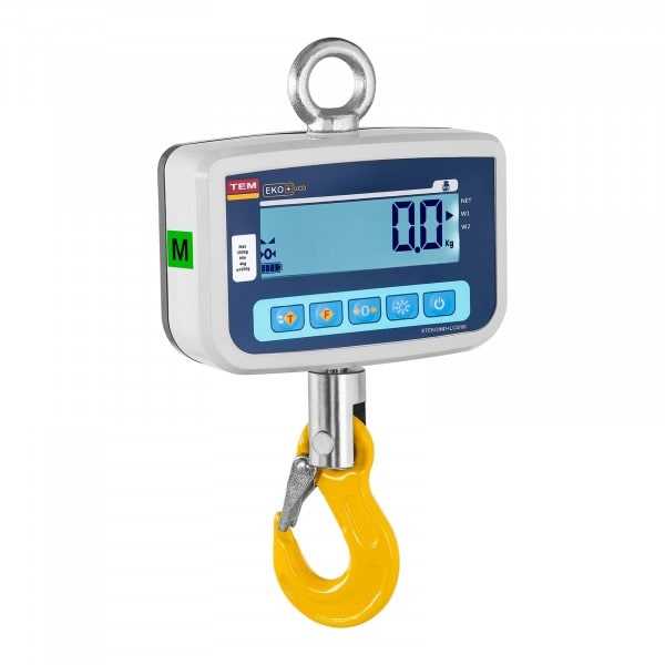 Dinamómetro digital - calibrado - 500 kg