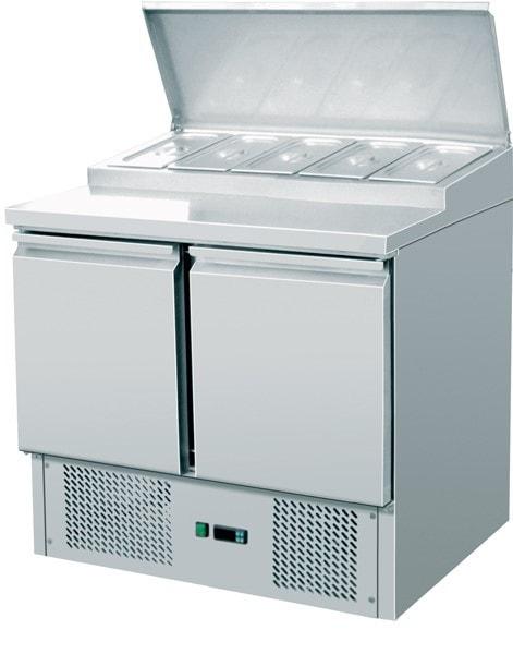 Saladette - 900 x 700 x 950mm - - Netto Kapazität