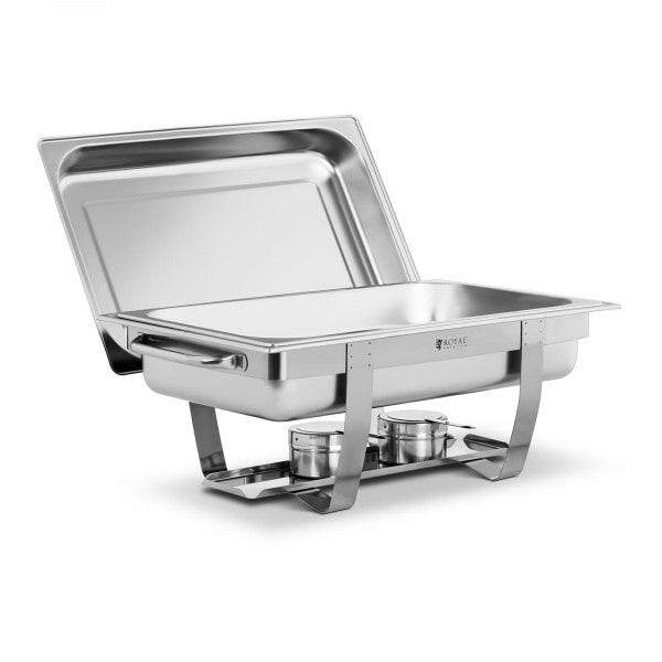 Chafing Dish - GN 1/1 - 8 L - 2 Brennstoffhalter