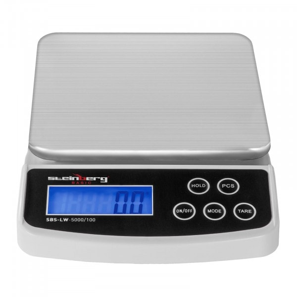 Bedienfeld von Digitale Briefwaage - 5 kg / 0,1 g - Basic - 3139 - 1