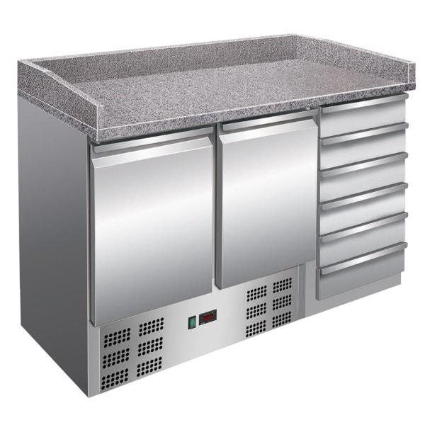 PizzaKühltisch - 1420x700x1020 mm