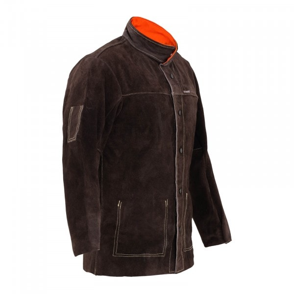Welding Jacket - Split Cowhide Leather - Size L