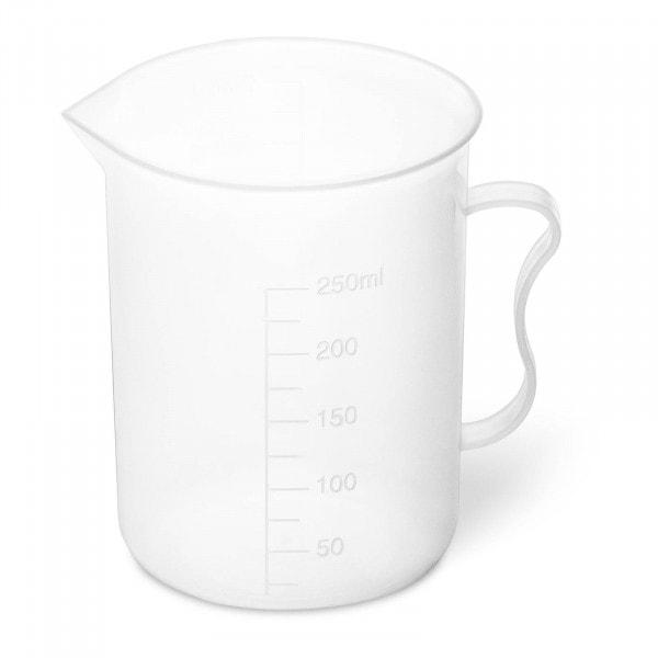 Messbecher - 10 Stück - 300 ml - mit Ausgießer und Handgriff