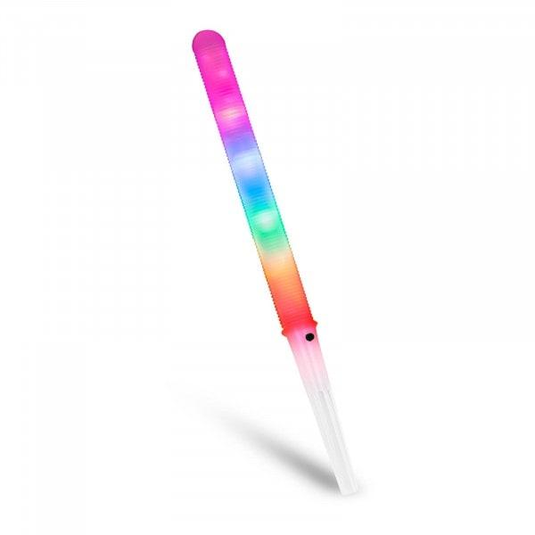 Zuckerwattestäbchen LED - 7 Modi - BPA-freier Kunststoff - inkl. Batterien - 50 Stück