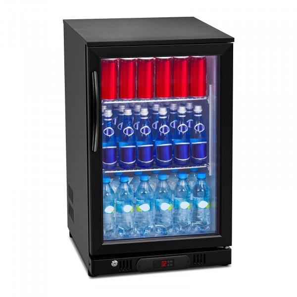 Flaskekjøleskap - 108 L - Aluminium