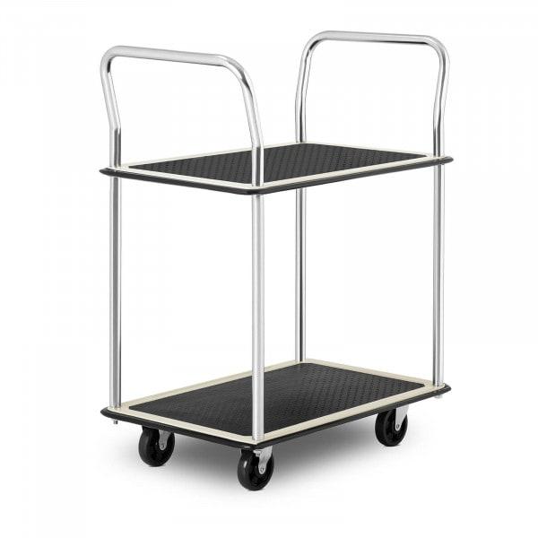 Wózek półkowy - do 120 kg - 2 półki