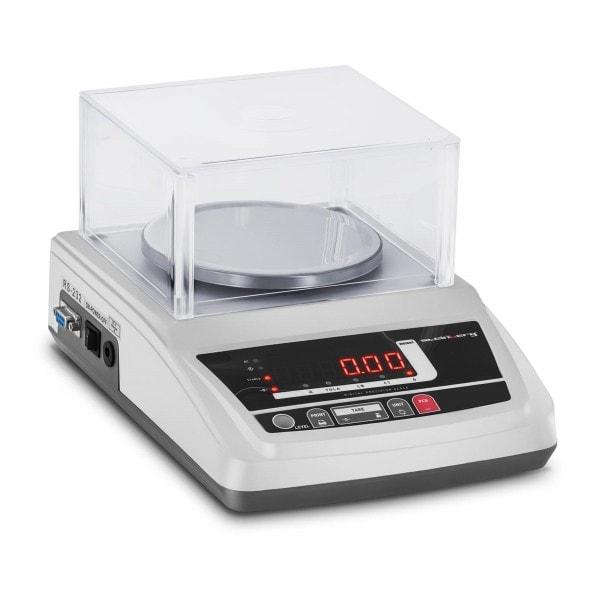 Waga laboratoryjna - 600 g / 0,01 g - LED - osłona