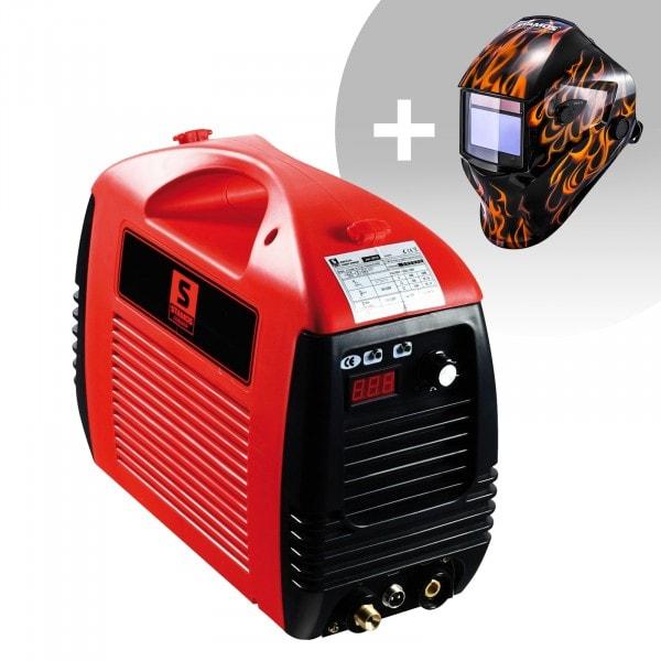 Set di saldatura Tagliatrice al plasma - 50 A - 230 V - Basic + Maschera da saldatore - Firestarter 500 - ADVANCED SERIES