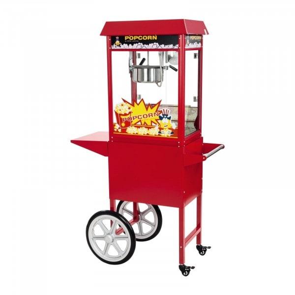 B-termék Pop-corn készítőgép – kétkerekű kocsival