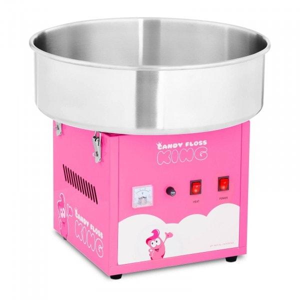 Macchina per zucchero filato - 52 cm - 1.200 W - rosa