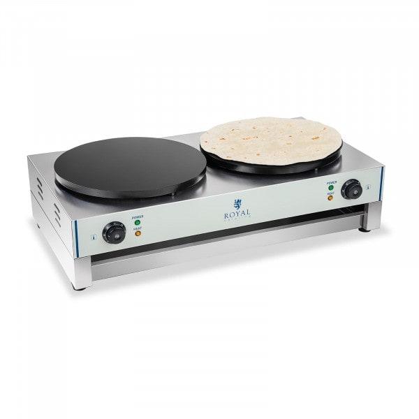Crêpes maker - 2 heating plates - 40 cm - 3,000 W