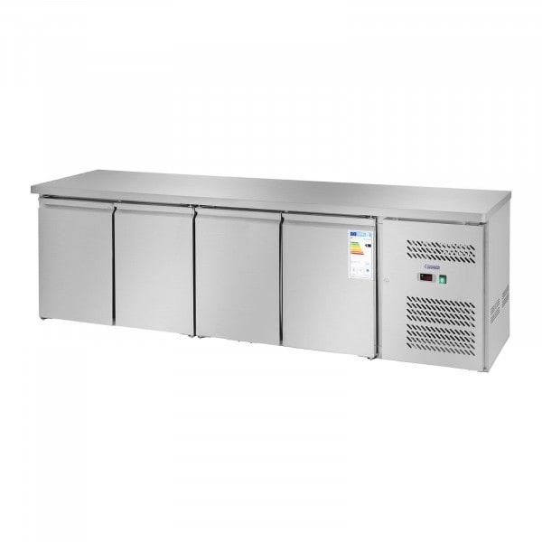 Hűtőpult - 450 l- 4 ajtós