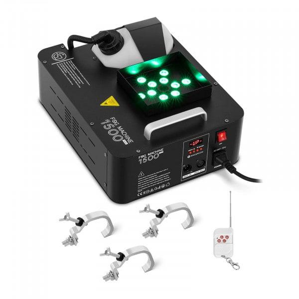 Nebelmaschine - 1.500 W - 509 m³ - LED 12 x 3 W - DMX-Anschluss