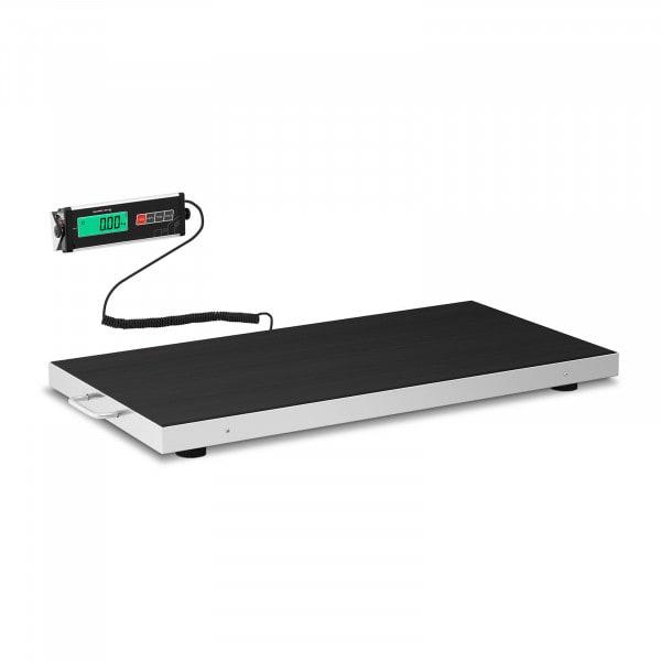 Podlahová váha - 150 kg / 50 g - protiskluzová podložka - LCD
