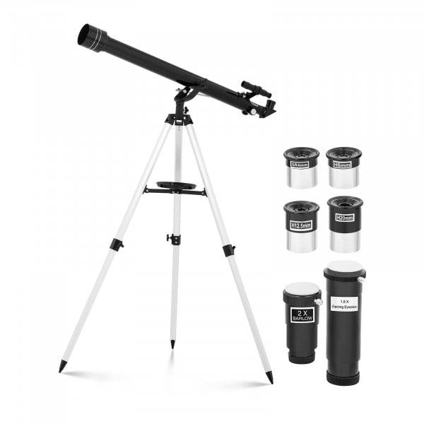 Artigos usados Telescópio refrator - 900 mm - abertura Ø60 mm