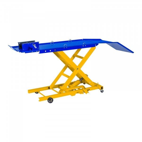 Hydraulická rampa na motocykly - 360 kg - 175 x 50 cm