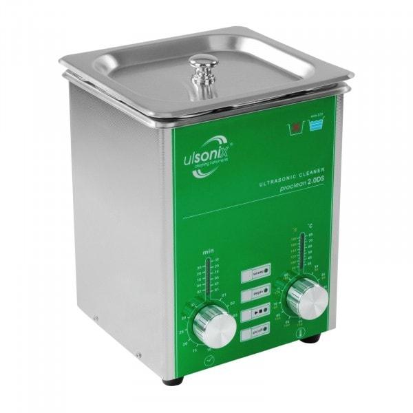 Gesamtansicht von Ultraschallreiniger - 2 Liter - Degas - Sweep