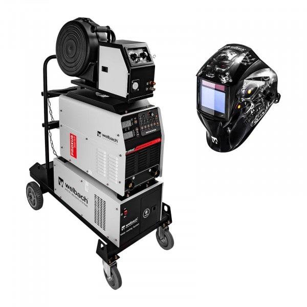 Set saldatrice a filo MIG MAG - MMA - 500 A - 400 V - digitale