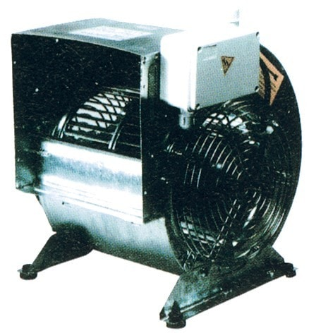 Radial Ventilatoren - 323x314x325 mm