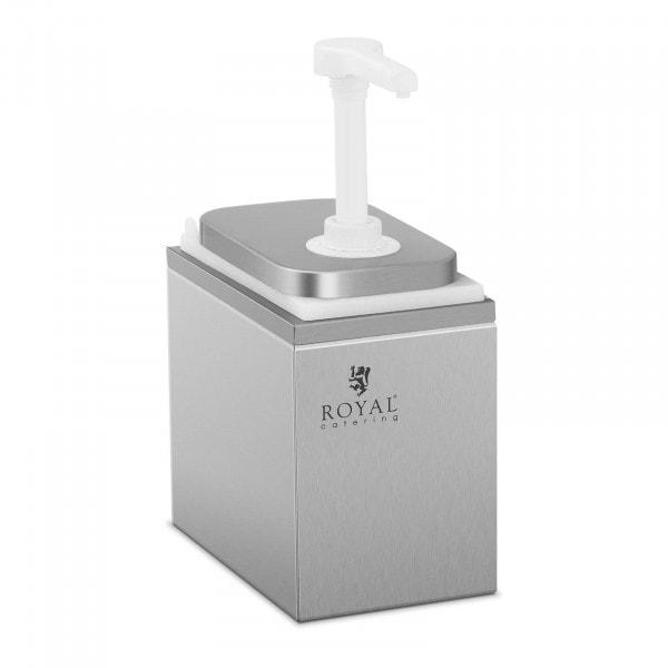 Dispensador de molhos com válvula - 2 l
