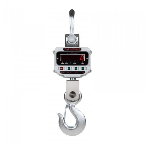 Gesamtansicht von Kranwaage - 10 t / 2 kg - LED