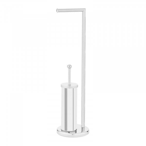 toilettenpapierhalter stehend mit wc b rste und halter. Black Bedroom Furniture Sets. Home Design Ideas