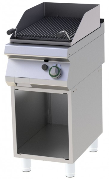 Lavasteingrill Gas - 400x730x1007 mm