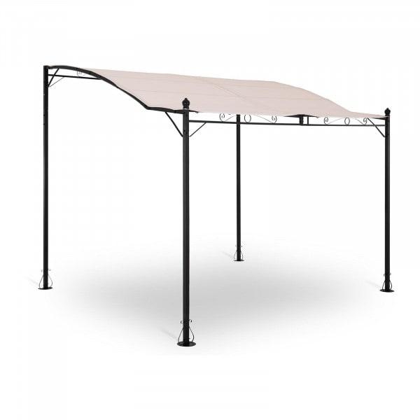 B-termék Kerti pavilon - 2,6 x 3 m - bézs
