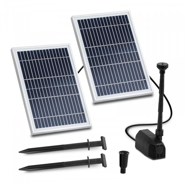 Fontein op zonne-energie - 1.350 l/u