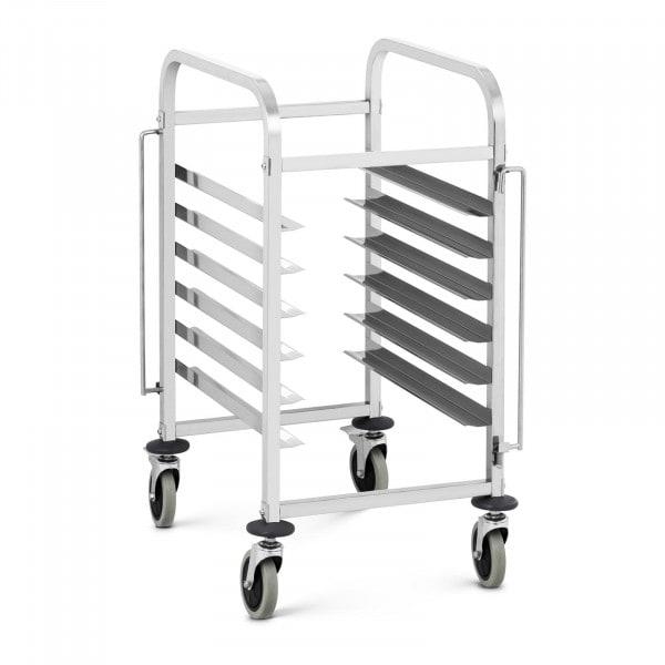 Regálový vozík - 6 zásuvů na GN nádoby - 60 kg