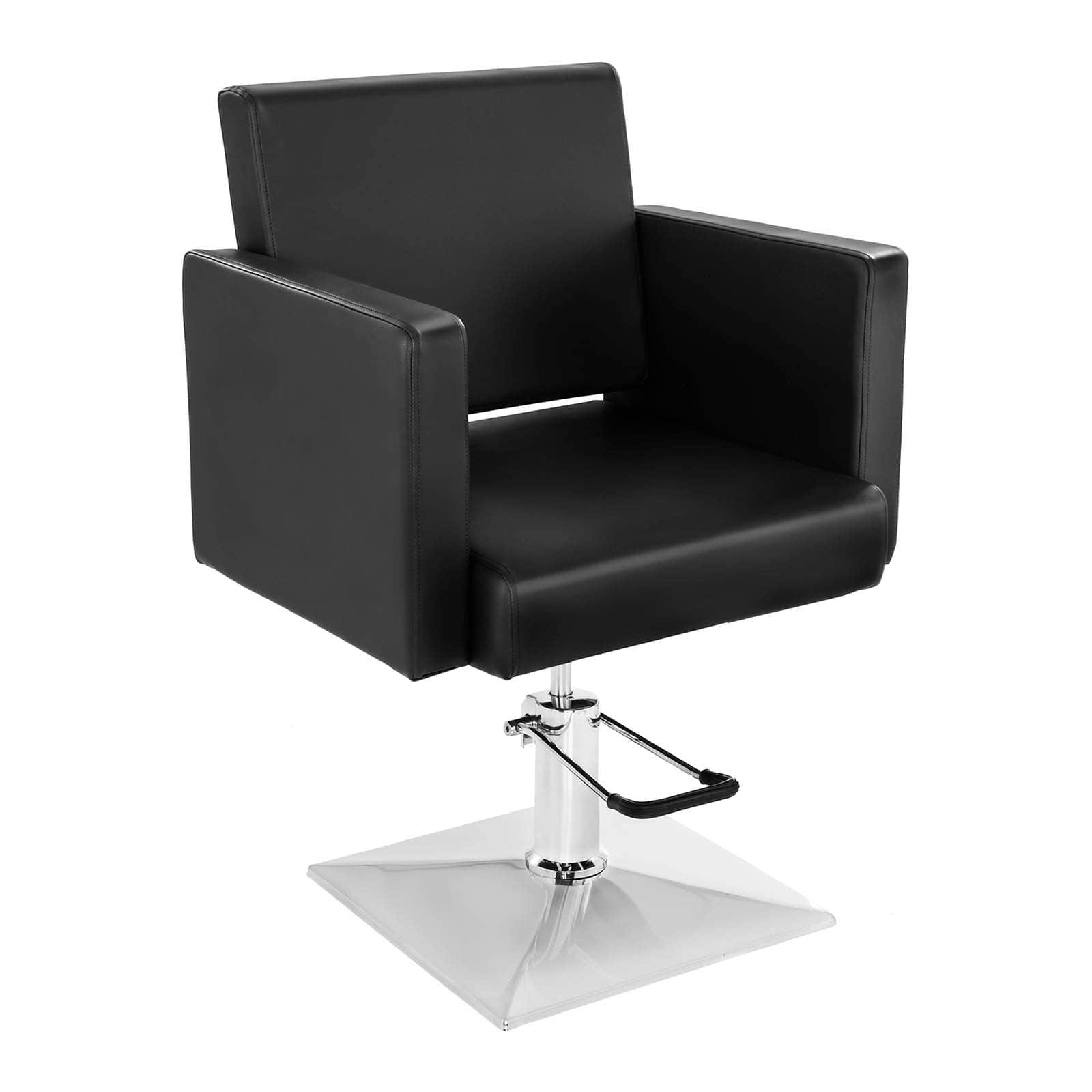 Fotel fryzjerski Bedford - czarny - 200 kg