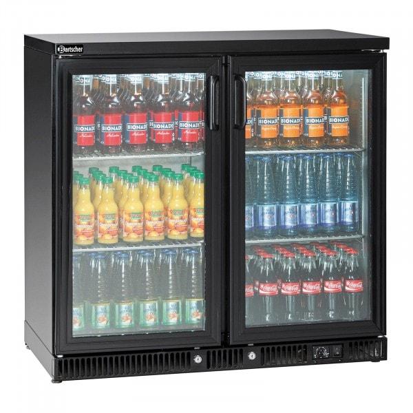 Bartscher Bottle Cooler 250L, 2 doors