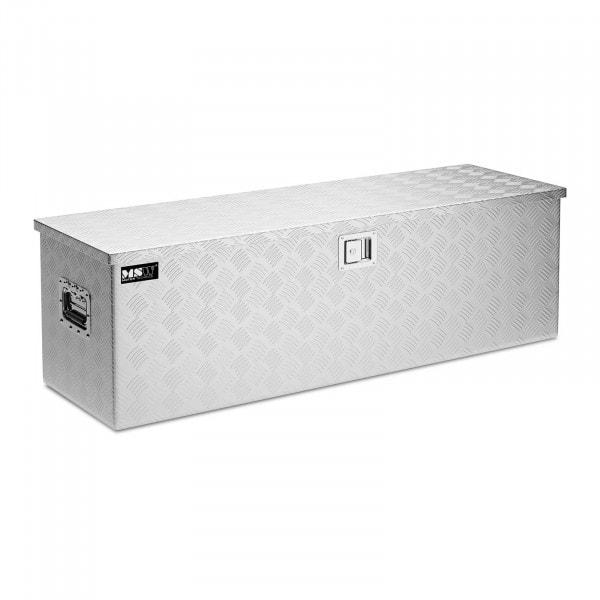 Aluminiumskasse - 124 x 38 x 38 cm - 150 L