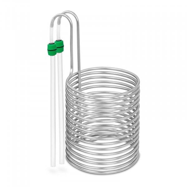 Kühlspirale - Ø 26 cm - 16 Schleifen - Edelstahl