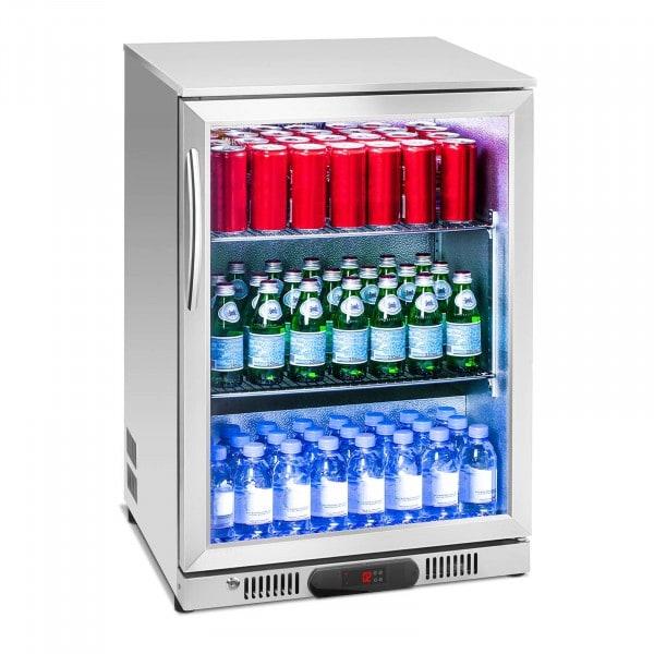 Brugt Flaskekøleskab - 138 l - rustfrit stål