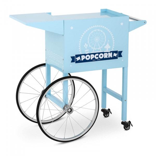 Wagen für Popcornmaschine - blau