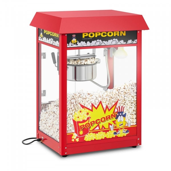 Popcorn machine - 120 s duty cycle - Red roof