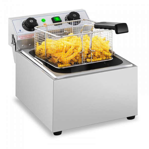 Electric Deep Fryer - 1 x 10 L - Timer - 230 V
