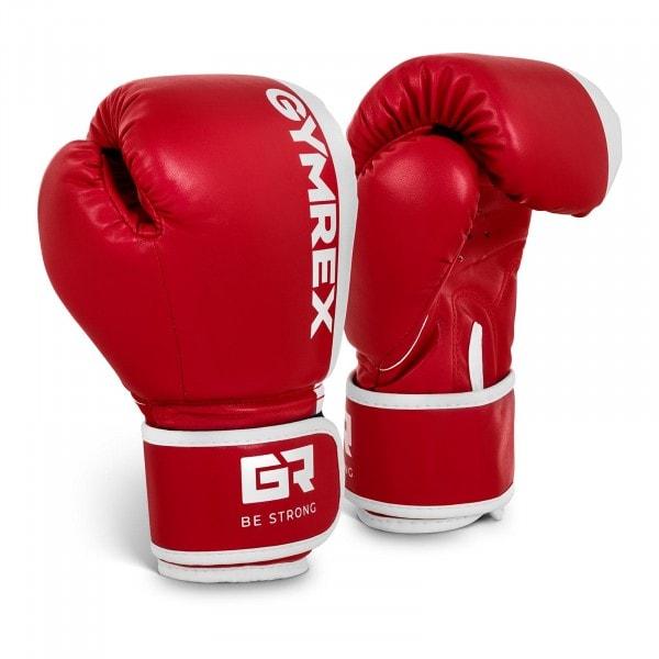 Boxhandschuhe Kinder - 6 oz - rot-weiß