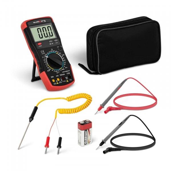 Multimeter - 2.000 Counts - hFE-Transistortest - Temperaturmessung