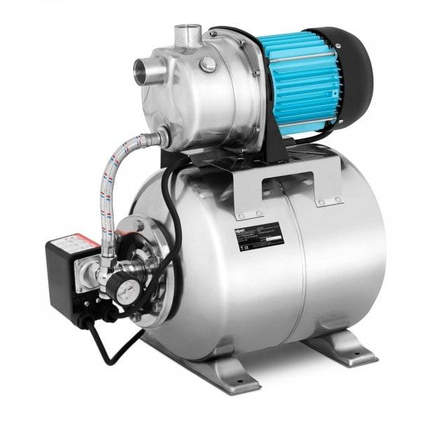 Hauswasserwerk - 3.100 L/h - 1.000 W - Edelstahl