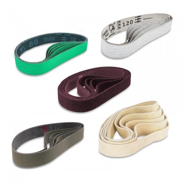 Sanding Belts' Set - 25-Parts