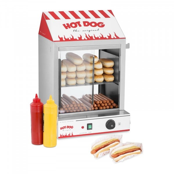 Macchina per hot dog a vapore - 2.000 W