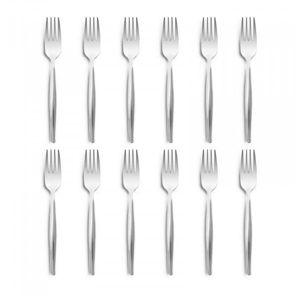 Fourchettes de table inox - 12 pièces