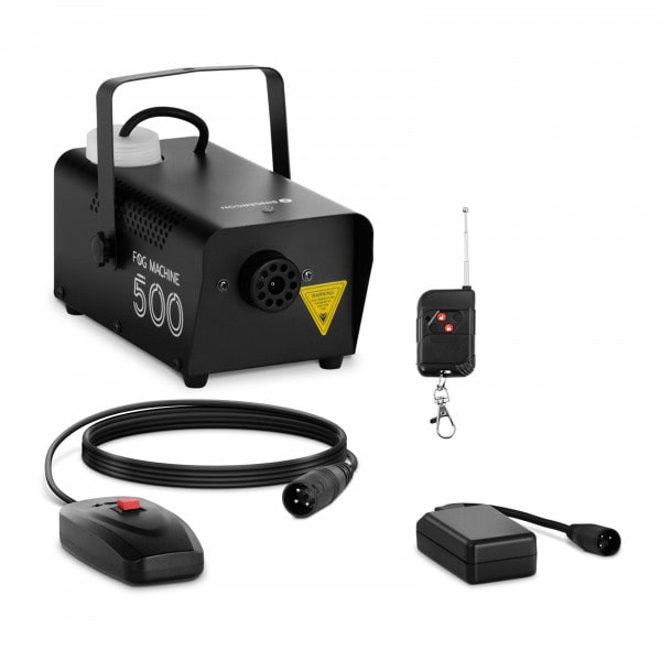 Nebelmaschine - 500 W - 28,32 m³ - DMX-Anschluss