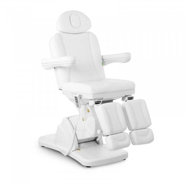 Fußpflegestuhl LA PAZ WHITE - elektrisch