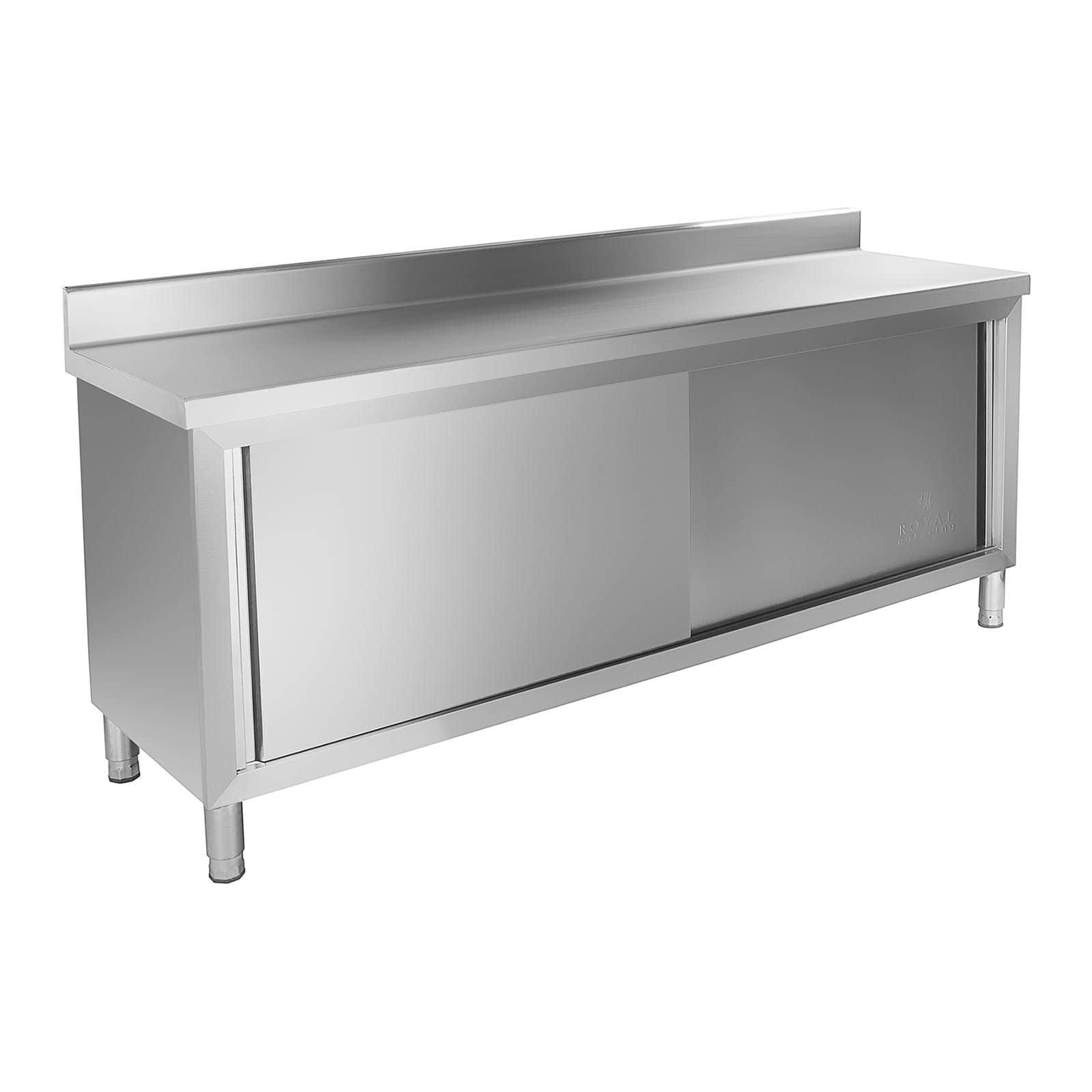 Rozsdamentes acél szekrények