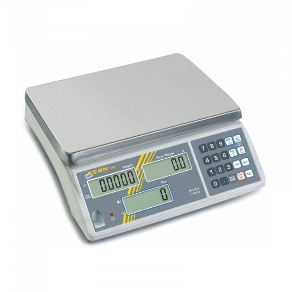 Gesamtansicht von KERN Zählwaagen - 3000 g / 1 g - optional geeicht