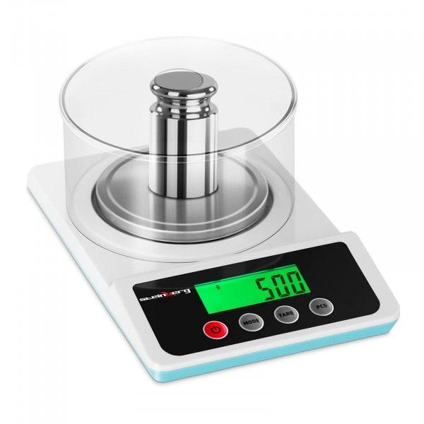 Precíziós mérleg - 500 g / 0,01 g