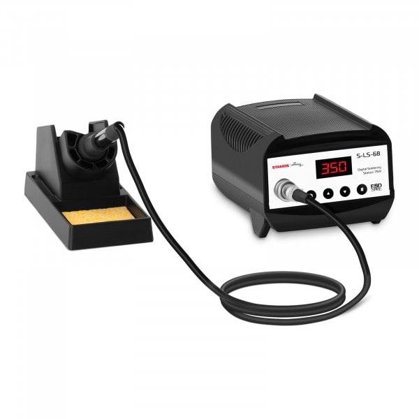 Lötstation - digital - mit Lötkolben und Lötkolbenablage - 75 W - LED